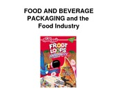 PKG101_FS08_Food___Beverage_-_Outline