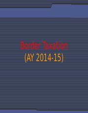 Sessions 09_Border Taxation
