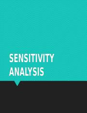 Lecture (Sensitivity Analysis).pptx