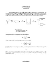 experiment 3 prelab Experiment 10 qualitative analysis of anions pre-lab assignment before coming to lab: • read the lab thoroughly  qualitative analysis of anions 3.