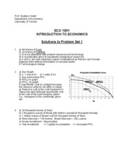 Solution to Problem Set 01 (ECO100)