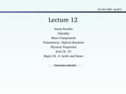 Lecture 12- end Ch.3