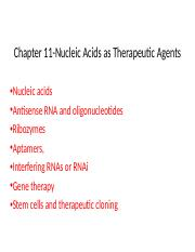 PBIO4500 Nucleic Acid Therapeutics (1) - Copy