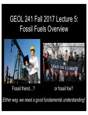 GEOL241 F2017 Lect5 -- Fossil Overview.pdf