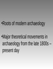 3 History of Archaeology-2