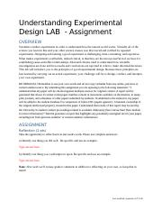 Anresh Mohapatra - LAB_Experimental Design_Assignment.docx