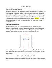 Electric Potential(3)