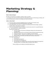 Week2 - Marketing Strategy & Market Planning.docx