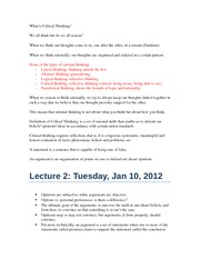 Midterm 1 Lectures