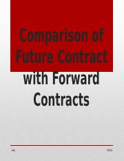 FORWARDS VS. FUTURES.pptx