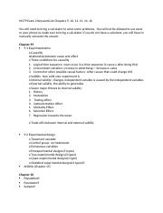 M379 Exam 2 Keyword List.docx