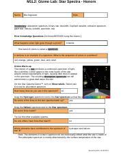 Copy of StarSpectraSE.doc. Heidi Cortez .docx - Name Heidi ...