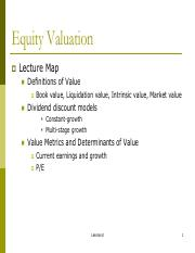 2.Equity Valuation Models (PVGO%2cDividend Discount) Tulane  - C18.pdf
