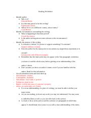 The Sublime and Beautiful Reading Worksheet.docx