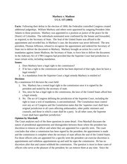 marbury v madison case brief essay Madison has been hailed as one of the most significant cases that the supreme   essay on the case of marbury v  case brief summary: marbury v madison.