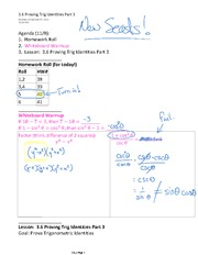 3.6 Proving Trig Identities Part 3