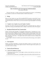 Broadcast Communications