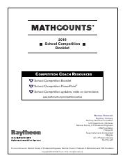 2016 School Competition Answer Key.pdf