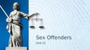 L12 Sex Offenders.ppt