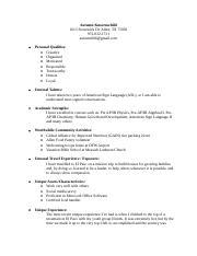 Bursary essays