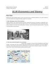 What types of jobs did slaves do in each colonial region New