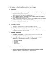 MNGT 5000 _ CHAPTER 1 - 7 NOTES
