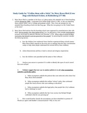Study Guide on Indian Boarding School Story