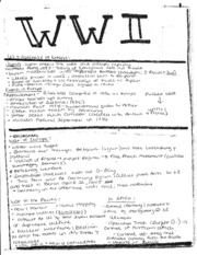 World History Class Notes 2
