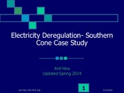 5 Electricity Regulation in the Southern Cone
