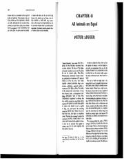 Peter Singer - All Animals are Equal.PDF