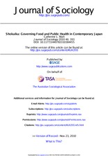 Mah.Shokuiku_Governing Food and Public Health in Contemporary Japan_Journal of Sociology_2010 (1)
