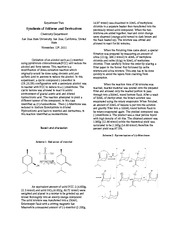 Synthesis of Stilbene and Derivatives