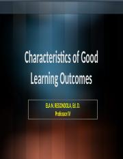 characteristic of good learning outcome.pptx