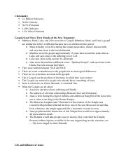 Christanity Review Sheet.docx