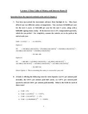 Lecture3_Chapter5_TVM_&_Interest_Rates_II_Solutions
