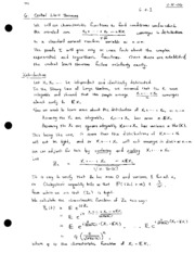 06 Central Limit Theorems