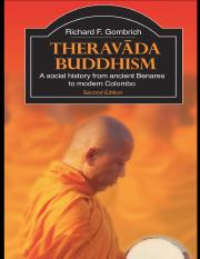 Theravāda Buddhism  A Social History From Ancient Benares to Modern Colombo