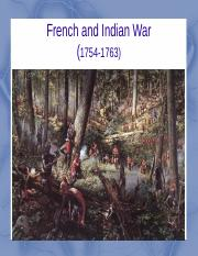 3 - French and Indian War