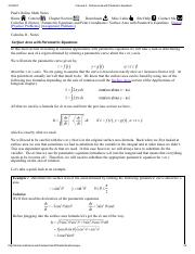 Calculus II - Surface Area with Parametric Equations
