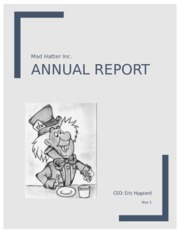Year 1 Annual Report