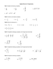 AlgebraReview