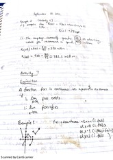 calc 1 functions and continuity classnotes