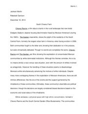 AMST final essay 2