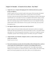 Chapter 10 - Nintendo (Answers).docx