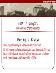 Meeting 12 Review - Ijaz.pptx