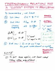 s6a Thermodynamic Relations for a Closed System.pdf