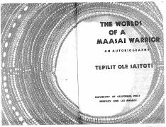 saitoti_1986_worlds+of+a+maasai+warrior