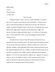 Literary Analysis - Rough Draft