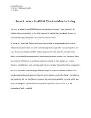 Report on tour to ADMA Titanium Manufacturing.docx