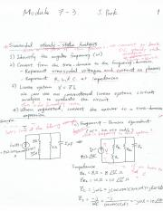 Additional Lecture note Module 7-3